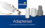 Bedienungsanleitung Goldfilter Adapter